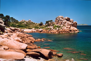 pink granite coast, Brittany